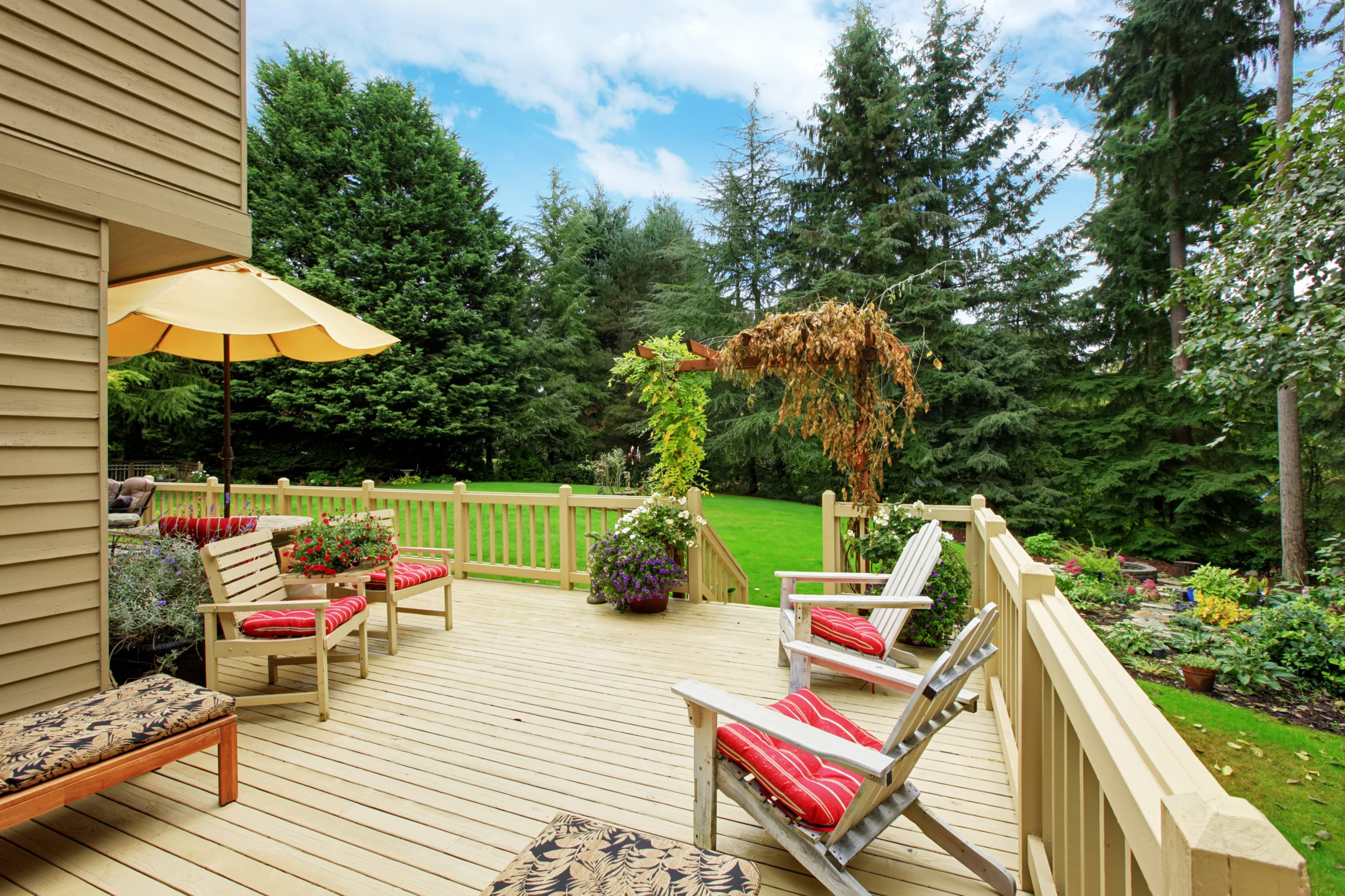 wraparound deck builder decks decking porch porches lexington kentucky contractor contractors professional construction company