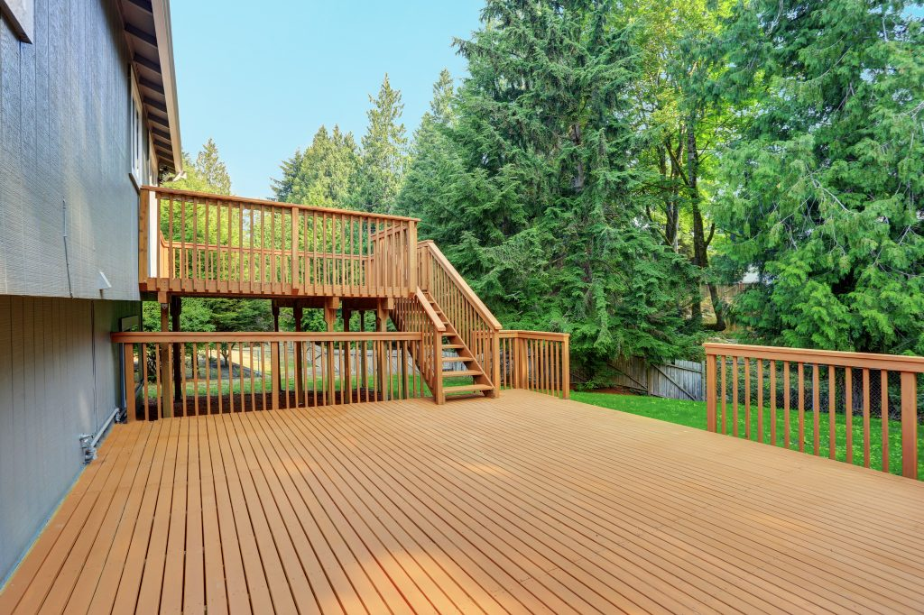 cedar decking deck builder lexington kentucky wood decks contractor contractors professional top quality #1