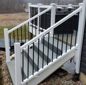 composite deck stairs lexington kentucky best deck builder contractor company