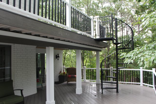 lexington kentucky multilevel multitiered decks decking deck builder contractor construction company