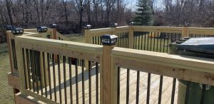 top quality new deck contractor construction company hire cedar decking pressure treated lumber weather resistant wood decks wooden build builders