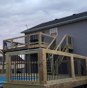 multilevele deck builder pool decking lexington kentucky