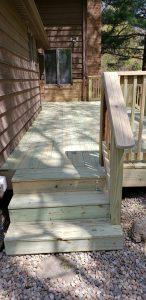 cedar deck pine decking wooden decks deck builder lexington kentucky